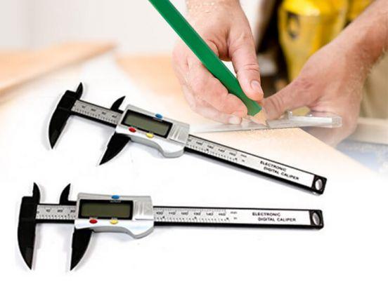 Benson tools schuifmaat digitaal fiber