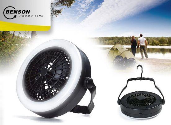 Ventilator en LED lamp, 2 in 1