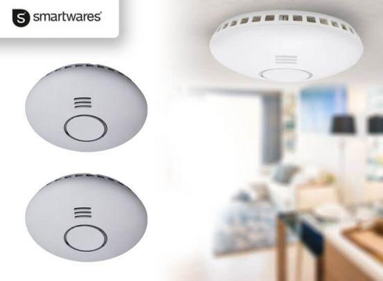 Smartwares RM174RF Rookmelder - 2 Stuks