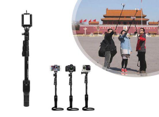 YT1288, 125cm selfie stick