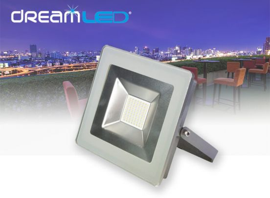 DREAMLED STREAMLINER FLOODLIGHT 50W ZONDER SENSOR