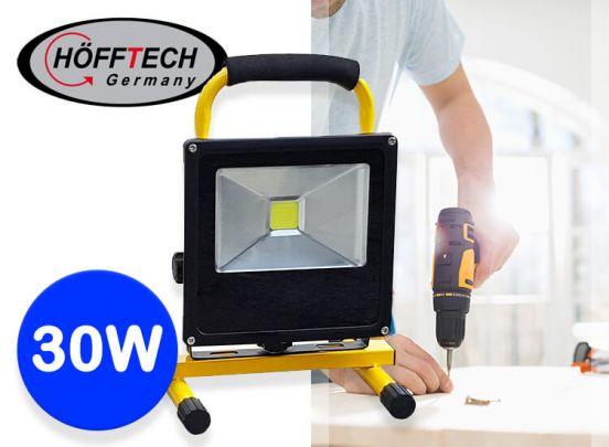 Höfftech oplaadbare Led-bouwlamp - 3 uur draadloos werken