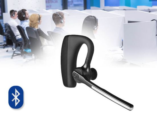 Bluetooth Headset met Accu - Perfect om handsfree te bellen!
