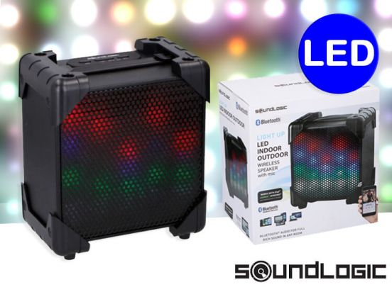 LED Indoor/outdoor speaker