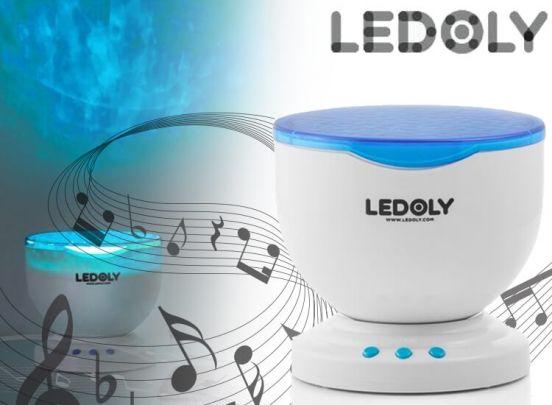 Ledoly Ledprojector met Luidspreker
