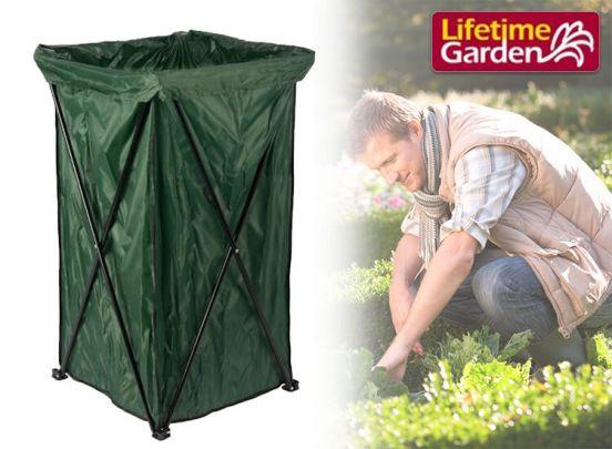 Lifetime Garden opvouwbare tuinafval container - Snel en praktisch je tuin opruimen