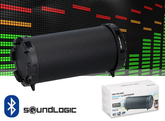 Soundlogic mini Bazooka Bluetooth speaker –