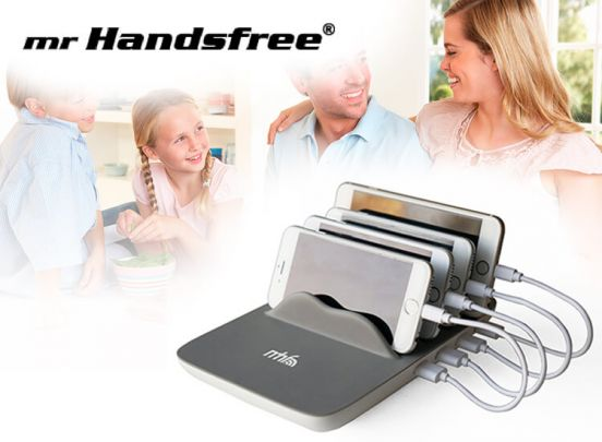 MR HANDSFREE SMART FAMILY CHARGER SFC-500