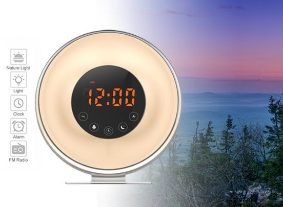 Sunrise Wake Up Light - 6639F