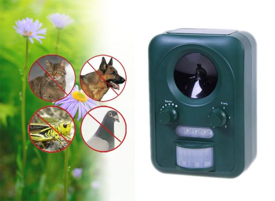 Universal Animal Repeller - Sonic en Flash