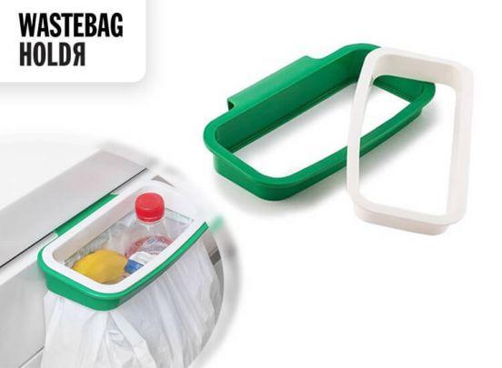 Wastebag HoldR houder voor pedaalemmerzakken - Maak een vuilnisbak waar jij dat wilt