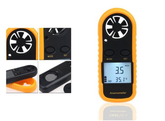 Benson wind- en temperatuurmeter - Nauwkeurige meting
