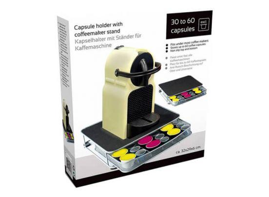 Capsulehouder met standaard - Om mooi en handig je koffiecapsules te bewaren