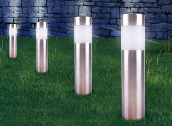 LED Lovers Solar LED Tuinlampen - 4 Stuks
