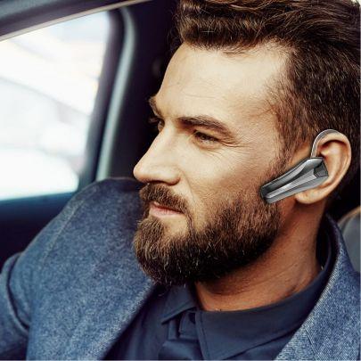 Bluetooth Headset Q5S - Perfect voor Telefoon / Bellen - Draadloze Telefonie Headset