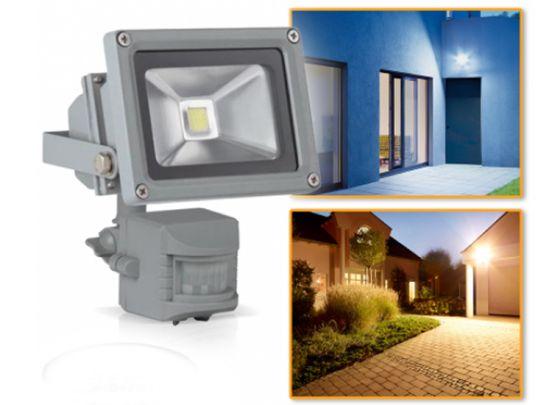 Hofftech LED Stralers Met RGB licht Of Bewegingssensor