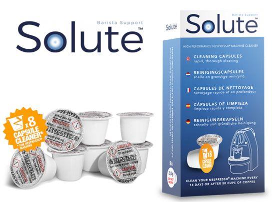 Solute Clean Taste capsule reiniger voor Nespresso - 8 stuks