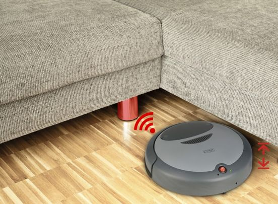 Robot Vacuum Cleaner - Lucys Home - 14 Watt - intelligente robotstofzuiger