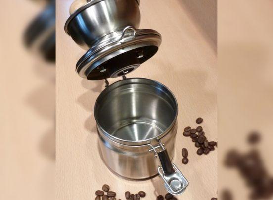 RVS nostalgische hand koffiemolen - Voor fijne of grove verse koffie