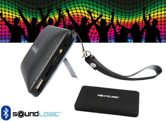 Soundlogic 5 in 1 powerbank en speaker - Luister muziek terwijl je je telefoon oplaadt