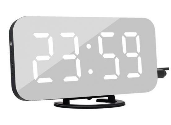Digitale Led wekker - Spiegel wekker