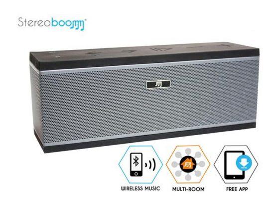 Stereoboomm MR200: draadloos muziek streamen