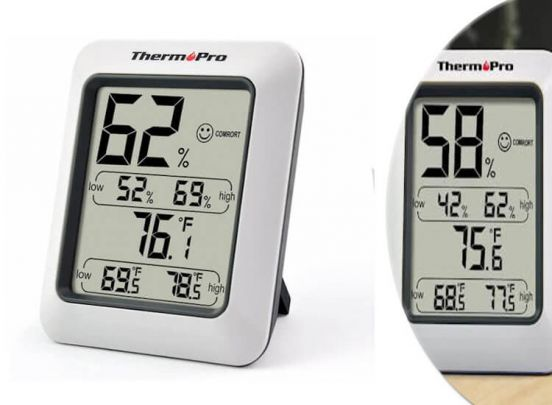 Thermo Pro digitale thermometer en hygrometer