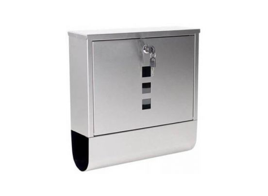 mailbox silver