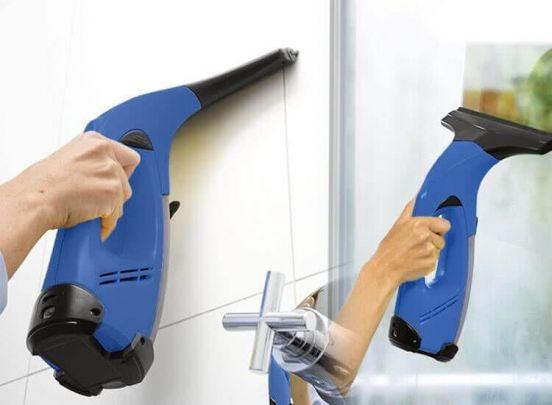 X6 stofzuiger - Zeer gemakkelijk je ramen, spiegels en tegels schoonmaken