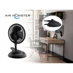 Air Monster Tafelventilator - Ø 15 cm - met optionele tafelclip