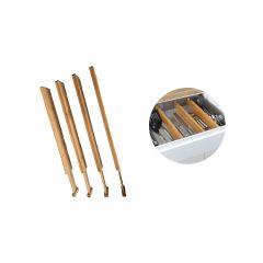 Bamboe keukenla organizer