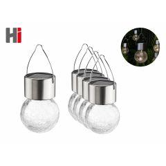 Solar led Hanglampen - 5 stuks