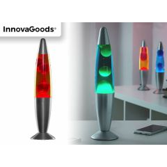 Innovagoods lavalamp - rood, groen of blauw