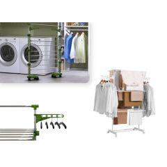 Herzberg HG-5015  - Multifunctioneel wasrek - 20 meter-Wit