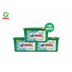 Ariel 3in1 Pods Febreze - 105 pods