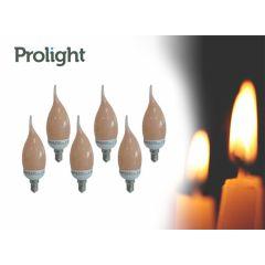 Prolight led lampen E14 - 6 stuks - Warm witte led-lampen met kleine fitting