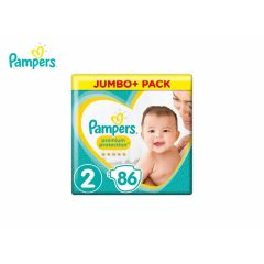 Pampers Luiers Premium Protection Maat 2 - 86 luiers