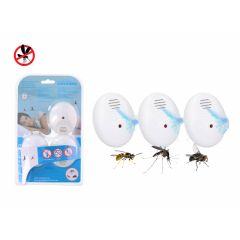Grundig Elektrische Ongediertebestrijding   Ultrasoon   Muggenstekker - 3 stuks