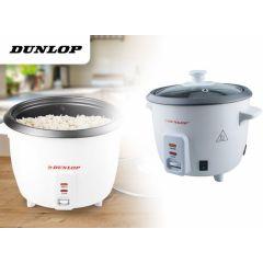 Dunlop Rijstkoker 0.6 Liter - Met warmhoudfunctie