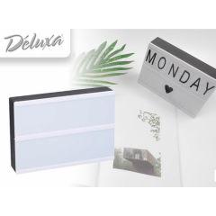Led light box A5 - Maak je eigen teksten met deze lichtbox