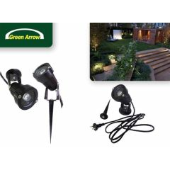 Green Arrow LED spot 3W met spies