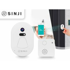 Sinji M1 Smart Doorbell - EU Plug - White