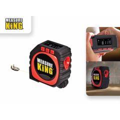 Measure King -  rolmaat, schuifmaat, meetlint en afstandsmeter in 1
