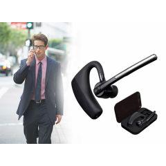 Bluetooth Headset met Accu en Oplaadcase - Perfect om handsfree te bellen