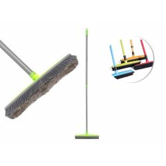 Pet carpet hair removal broom - Black
