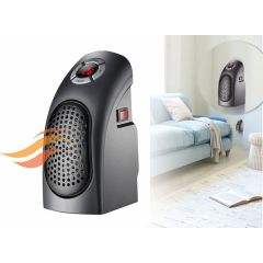 Power fan heater