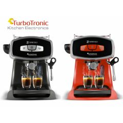 TurboTronic TT-CM19 Koffiemachine - Rood of Zwart