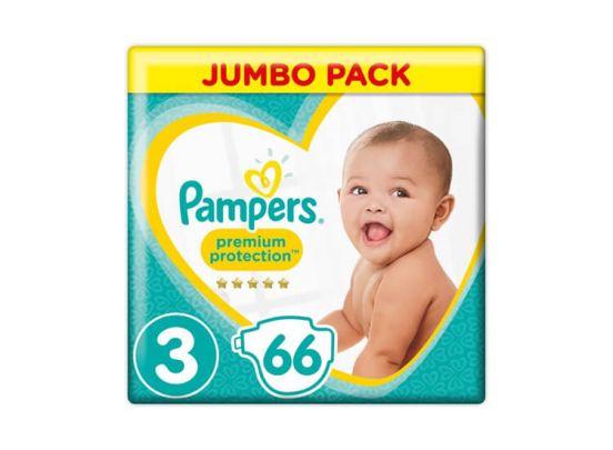 Pampers Premium Protection Luiers - 66 Stuks