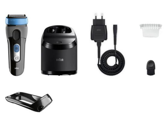BrAun Series 3 CoolTec Active skin cooling Wet & Dry with Clean&Charge System CT2cc
