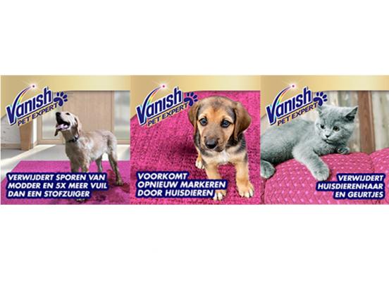 Vanish Pet Expert Schuim 600ml